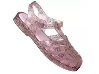 Sandália Feminina Melissa 33276 53810 Possession Fluor Glitter Misto/rosa - Tamanho Médio