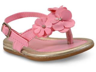 Sandália Fem Infantil Pampili 298.116 Rosa Chiclete - Tamanho Médio