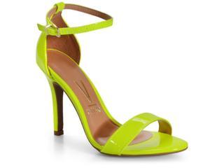 Sandália Feminina Vizzano 6249152 Amarelo Fluor - Tamanho Médio