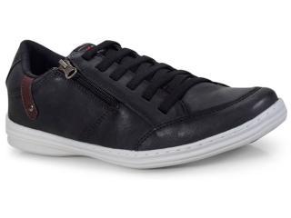 Sapatênis Masculino Ped Shoes 14001-a Preto - Tamanho Médio