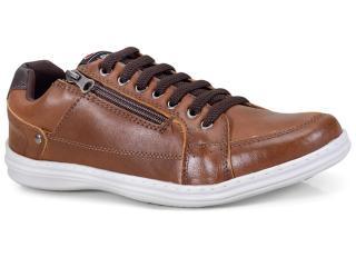 Sapatênis Masculino Ped Shoes 76501-d Castanho - Tamanho Médio
