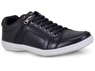 Sapatênis Masculino Ped Shoes 78001-a Preto - Tamanho Médio