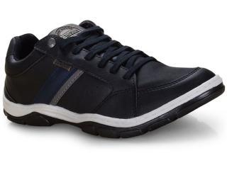 Sapatênis Masculino Ped Shoes 17502-a Preto Kit c/ Relogio - Tamanho Médio