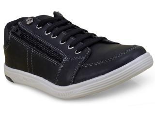 Sapatênis Masculino Ped Shoes 79000-a Preto - Tamanho Médio
