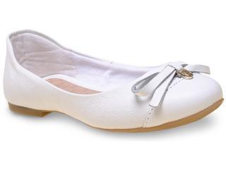 Sapatilha Fem Infantil Bibi 814125 Branco - Tamanho Médio