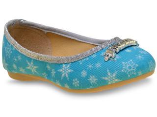 Sapatilha Fem Infantil Grendene 21461 Frozen Ice Azul - Tamanho Médio