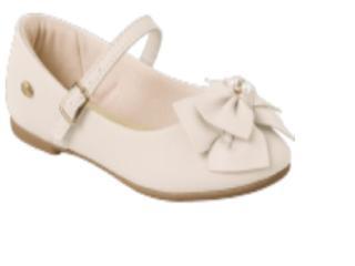 Sapatilha Fem Infantil Klin 151.106 Off White - Tamanho Médio