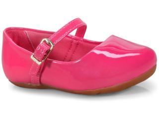 Sapatilha Fem Infantil Pampili 203.211 Pink Batom - Tamanho Médio