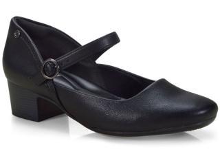Sapato Feminino Comfortflex 18-86406 Preto - Tamanho Médio