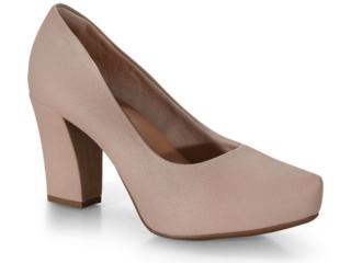 Sapato Feminino Bebêcê6916274 Nude - Tamanho Médio
