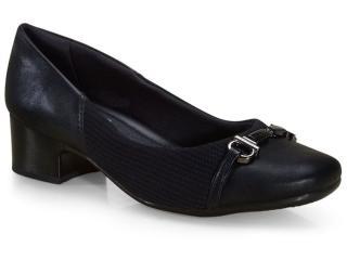 Sapato Feminino Comfortflex 21-86303 Preto - Tamanho Médio