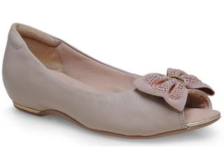 Sapato Feminino Comfortflex 14-76404 Palha - Tamanho Médio