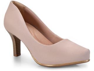Sapato Feminino Comfortflex 17-85401 Avelã - Tamanho Médio