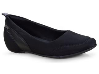 Sapato Feminino Comfortflex 18-46401 Preto - Tamanho Médio