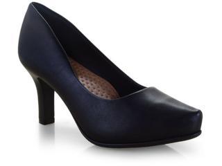 Sapato Feminino Comfortflex 19-85301 Preto - Tamanho Médio
