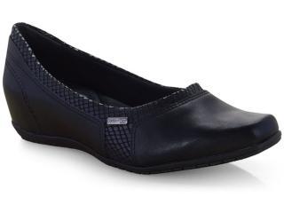 Sapato Feminino Comfortflex 19-94302 Preto - Tamanho Médio