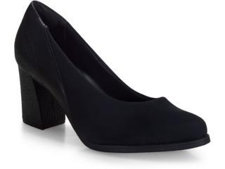 Sapato Feminino Comfortflex 20-78302 Preto - Tamanho Médio