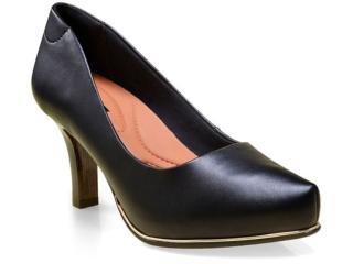 Sapato Feminino Comfortflex 16-85401 Preto - Tamanho Médio