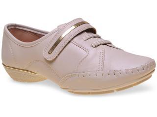 Sapato Feminino d Moon 51038 Natural - Tamanho Médio