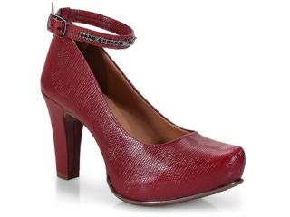 Sapato Feminino Dakota B9854 Malbec - Tamanho Médio