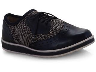 Sapato Feminino Dakota G1141 Preto/bege - Tamanho Médio