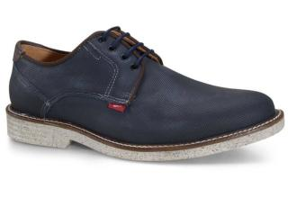 Sapato Masculino Ferracini 5732-623h Marinho - Tamanho Médio