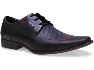 Sapato Masculino Ferracini 3851 Cosmo Preto - Tamanho Médio