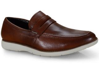 Sapato Masculino Ferracini 6128-559l Havana - Tamanho Médio