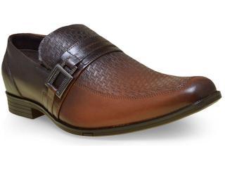 Sapato Masculino Ferracini 5778-275g Castanho - Tamanho Médio