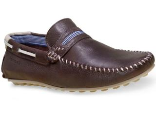 Sapato Masculino Ferricelli Pm44010 Café - Tamanho Médio