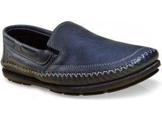 Sapato Masculino Ferricelli Ib14915 Petróleo - Tamanho Médio