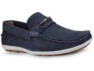 Sapato Masculino Ferricelli Yn46270 Azul - Tamanho Médio