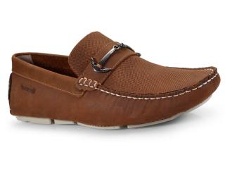 Sapato Masculino Ferricelli Lx40120 Camel - Tamanho Médio