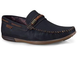 Sapato Masculino Ferricelli Jim52241 Preto/camel - Tamanho Médio
