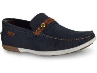 Sapato Masculino Ferricelli Jim52255 Azul/camel - Tamanho Médio