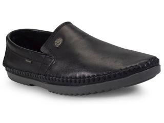 Sapato Masculino Free Way Logan-4 Turim Preto - Tamanho Médio