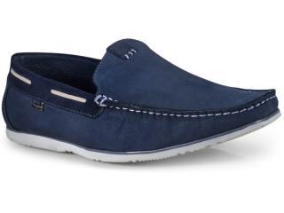 Sapato Masculino Free Way Cassis Nobuck Midnight Azul - Tamanho Médio