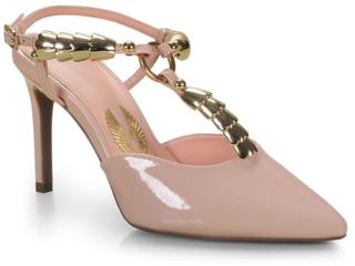 Sapato Feminino Invoice 503.5649 Nude - Tamanho Médio