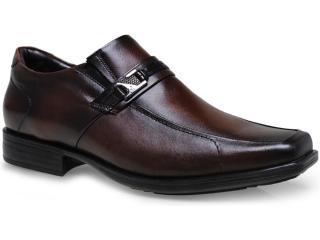 Sapato Masculino Jota pe 14353 Brown - Tamanho Médio