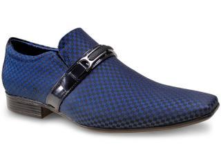 Sapato Masculino Jota pe 16055 Marinho - Tamanho Médio