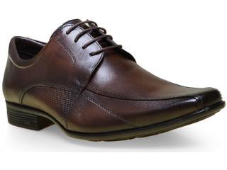 Sapato Masculino Jota pe 13163 Brown - Tamanho Médio