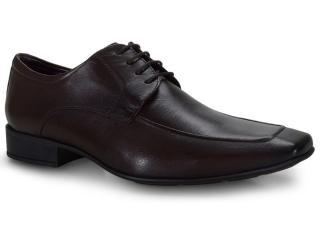 Sapato Masculino Jota pe 40056 Chocolate - Tamanho Médio