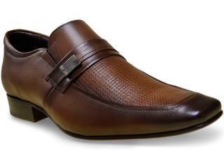 Sapato Masculino Jota pe 40081 Tan - Tamanho Médio