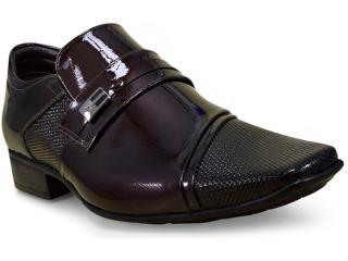 Sapato Masculino Jota pe 40769 Café - Tamanho Médio