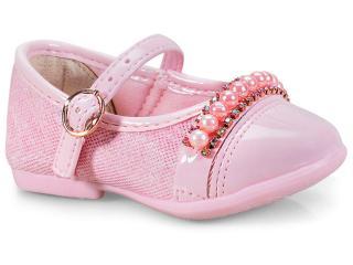 Sapato Fem Infantil Kidy 01502504005 Nude - Tamanho Médio