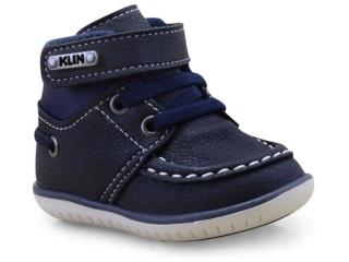 Sapato Masc Infantil Klin 166.106 Marinho - Tamanho Médio