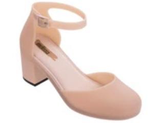 Sapato Feminino Melissa 32547 51647 Femme High Rosa/preto - Tamanho Médio