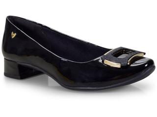 Sapato Feminino Mississipi X9102 Preto - Tamanho Médio