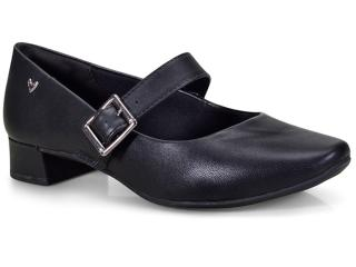 Sapato Feminino Mississipi X9105 Preto - Tamanho Médio