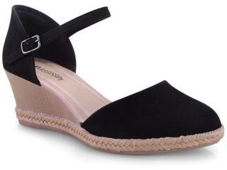 Sapato Feminino Mississipi Q0193 Preto - Tamanho Médio